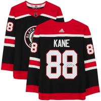 Patrick Kane Signed Blackhawks Throwback Jersey (Fanatics Hologram) at PristineAuction.com