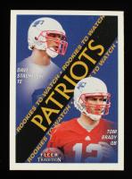 Tom Brady / David Stachelski 2000 Fleer Tradition #352 RC at PristineAuction.com