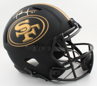 Frank Gore Signed 49ers Full-Size Eclipse Alternate Speed Helmet (Beckett COA) (See Description) at PristineAuction.com