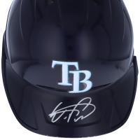 Wander Franco Signed Rays Full-Size Batting Helmet (Fanatics Hologram) at PristineAuction.com