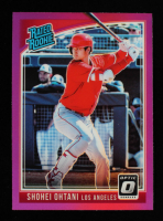 Shohei Ohtani 2018 Donruss Optic Pink Rated Rookie #56 RC at PristineAuction.com