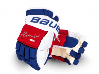 Alexis Lafreniere Signed Bauer Vapor 2x Hockey Gloves (UDA COA) at PristineAuction.com