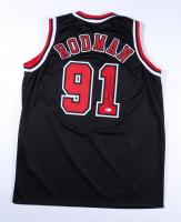 Dennis Rodman Signed Jersey (Beckett Hologram) at PristineAuction.com