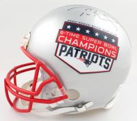 Tom Brady Signed Patriots Full-Size Authentic On-Field Helmet (Fanatics Hologram) at PristineAuction.com