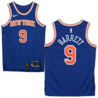 "RJ Barrett Signed Knicks Jersey Inscribed ""Maple Mamba"" (Fanatics Hologram) at PristineAuction.com"