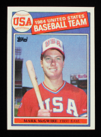 Mark McGwire 1985 Topps Olympic #401 RC at PristineAuction.com