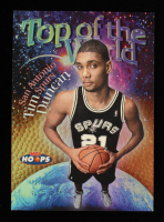 Tim Duncan 1997-98 Hoops Top of the World #TW1 at PristineAuction.com