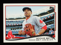 Mookie Betts 2014 Topps Update #US301 RC at PristineAuction.com