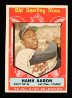 Hank Aaron 1959 Topps All-Star #561 at PristineAuction.com