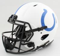 "Peyton Manning & Reggie Wayne Signed Colts Full-Size Authentic On-Field Lunar Eclipse Alternate Speed Helmet Inscribed ""SB XLI Champs"" (PSA COA & Fanatics Hologram) at PristineAuction.com"