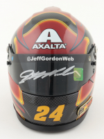 Jeff Gordon Signed NASCAR Limited Edition Axalta 1:3 Scale Mini Helmet (Gordon Hologram) (See Description) at PristineAuction.com