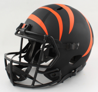 """Chad Johnson Signed Bengals Full-Size Eclipse Alternate Speed Helmet Inscribed """"Welcome to the Jungle"""" (PSA COA) at PristineAuction.com"""