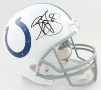 Reggie Wayne Signed Colts Full-Size Helmet (PSA COA) at PristineAuction.com