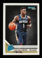 Zion Williamson  2019-20 Donruss Rated Rookies #201 RC at PristineAuction.com