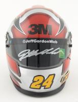 Jeff Gordon Signed NASCAR Limited Edition 3M 1:3 Scale Mini Helmet (Gordon Hologram) (See Description) at PristineAuction.com