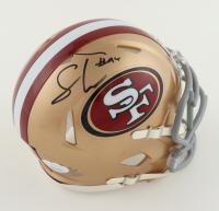 Solomon Thomas Signed 49ers Speed Mini-Helmet (JSA COA) at PristineAuction.com