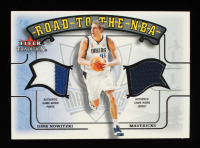 Dirk Nowitzki 2002-03 Fleer Tradition Road to the NBA Game-Used #RTN9 at PristineAuction.com
