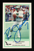 Ron Jaworski Signed 1986 Eagles Police #13 (JSA COA) at PristineAuction.com