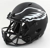 "Brian Dawkins Signed Eagles Full-Size Eclipse Alternate Speed Helmet Inscribed ""Eagle For Life!!"" (JSA COA) at PristineAuction.com"
