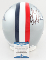 """Drew Pearson Signed Cowboys Full-Size Helmet Inscribed """"America's Team"""" & """"SB XII Champs"""" (Beckett COA) at PristineAuction.com"""
