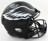 "Brian Dawkins Signed Eagles Full-Size Eclipse Alternate Speed Helmet Inscribed ""Eagle For Life"" (JSA COA) at PristineAuction.com"
