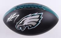 Michael Vick Signed Eagles Logo Football (JSA COA) (See Description) at PristineAuction.com
