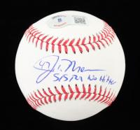 "John Means Signed OML Baseball Inscribed ""5/5/21 No Hitter"" (Beckett Hologram) at PristineAuction.com"