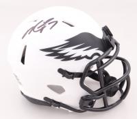Michael Vick Signed Eagles Lunar Eclipse Alternate Speed Mini Helmet (JSA COA) at PristineAuction.com