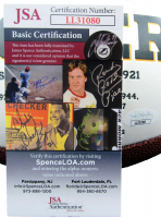 "John Kuhn Signed Packers Logo Football Inscribed ""SB XLV Champs"" (JSA COA) at PristineAuction.com"