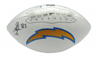 Antonio Gates Signed Chargers Logo Football (Beckett COA) at PristineAuction.com