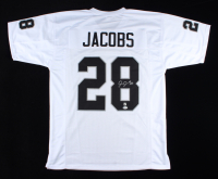 Josh Jacobs Signed Jersey (Beckett COA & Jacobs Hologram) at PristineAuction.com