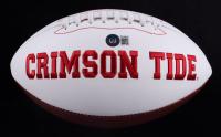 Derrick Henry & Mark Ingram Jr. Signed Alabama Crimson Tide Logo Football (Beckett COA) (See Description) at PristineAuction.com