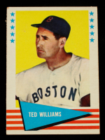 Ted Williams 1961 Fleer #152 at PristineAuction.com
