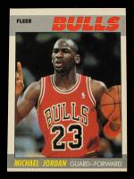 Michael Jordan 1987-88 Fleer #59 at PristineAuction.com