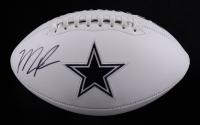 Micah Parsons Signed Cowboys Logo Football (Fanatics Hologram) (See Description) at PristineAuction.com