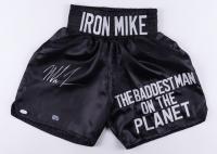 Mike Tyson Signed Boxing Trunks (JSA COA & Tyson Hologram) at PristineAuction.com