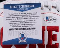 "Lincoln Riley Signed Oklahoma Sooners Logo Football Inscribed ""Boomer Sooner"" (Beckett COA) (See Description) at PristineAuction.com"