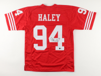 Charles Haley Signed Jersey (Beckett Hologram) at PristineAuction.com