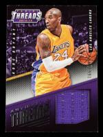 Kobe Bryant 2014-15 Panini Threads Authentic Threads #37 #166/199 at PristineAuction.com