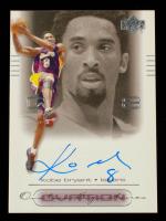 Kobe Bryant 2000-01 Upper Deck Ovation Super Signatures #KB at PristineAuction.com