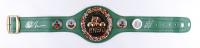 Mike Tyson & Evander Holyfield Signed Full-Size WBC Heavyweight Championship Belt (JSA COA & Tyson Hologram) at PristineAuction.com