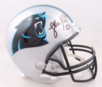 Luke Kuechly Signed Panthers Full-Size Helmet (Beckett Hologram) at PristineAuction.com