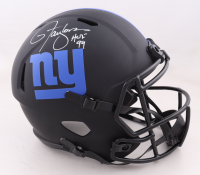 "Lawrence Taylor Signed Giants Full-Size Eclipse Alternate Speed Helmet Inscribed ""HOF 99"" (Beckett Hologram) at PristineAuction.com"