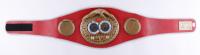Mike Tyson Signed World Champion IBF Belt (Tyson Hologram) at PristineAuction.com