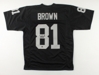 Tim Brown Signed Jersey (Beckett Hologram) at PristineAuction.com