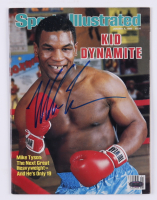 Mike Tyson Signed 1986 Sports Illustrated Magazine (Steiner COA) at PristineAuction.com
