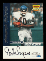 Gale Sayers 1999 Greats of the Game Autograph Collection at PristineAuction.com