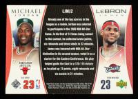 Michael Jordan / LeBron James 2005-06 Upper Deck Michael Jordan / LeBron James #MJLJ2 at PristineAuction.com