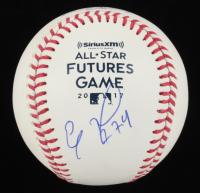 Eloy Jimenez Signed All-Star Futures Game 2017 OML Baseball (JSA Hologram) at PristineAuction.com