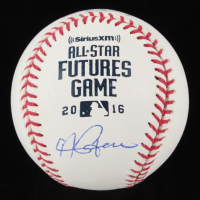 Andrew Benintendi Signed 2016 All-Star Futures Game OML Baseball (JSA COA) at PristineAuction.com